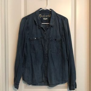 Madewell Denim Shirt  - L